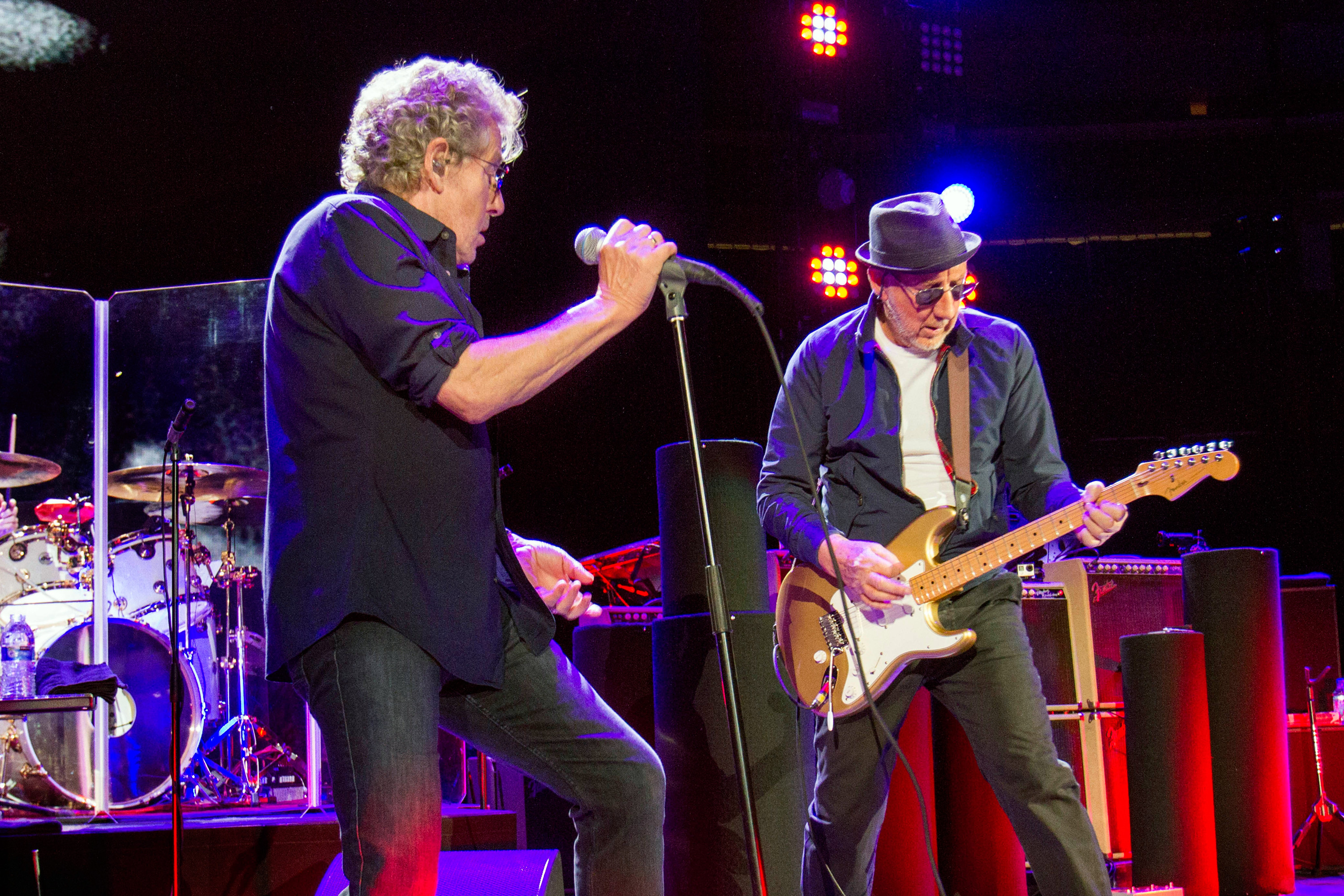 The Who Perform at The Prudential Center. in Newark, NY on March 19, 2016.