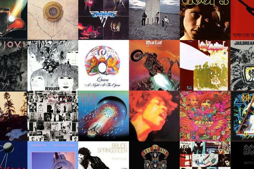 The Greatest Rock Albums Ever