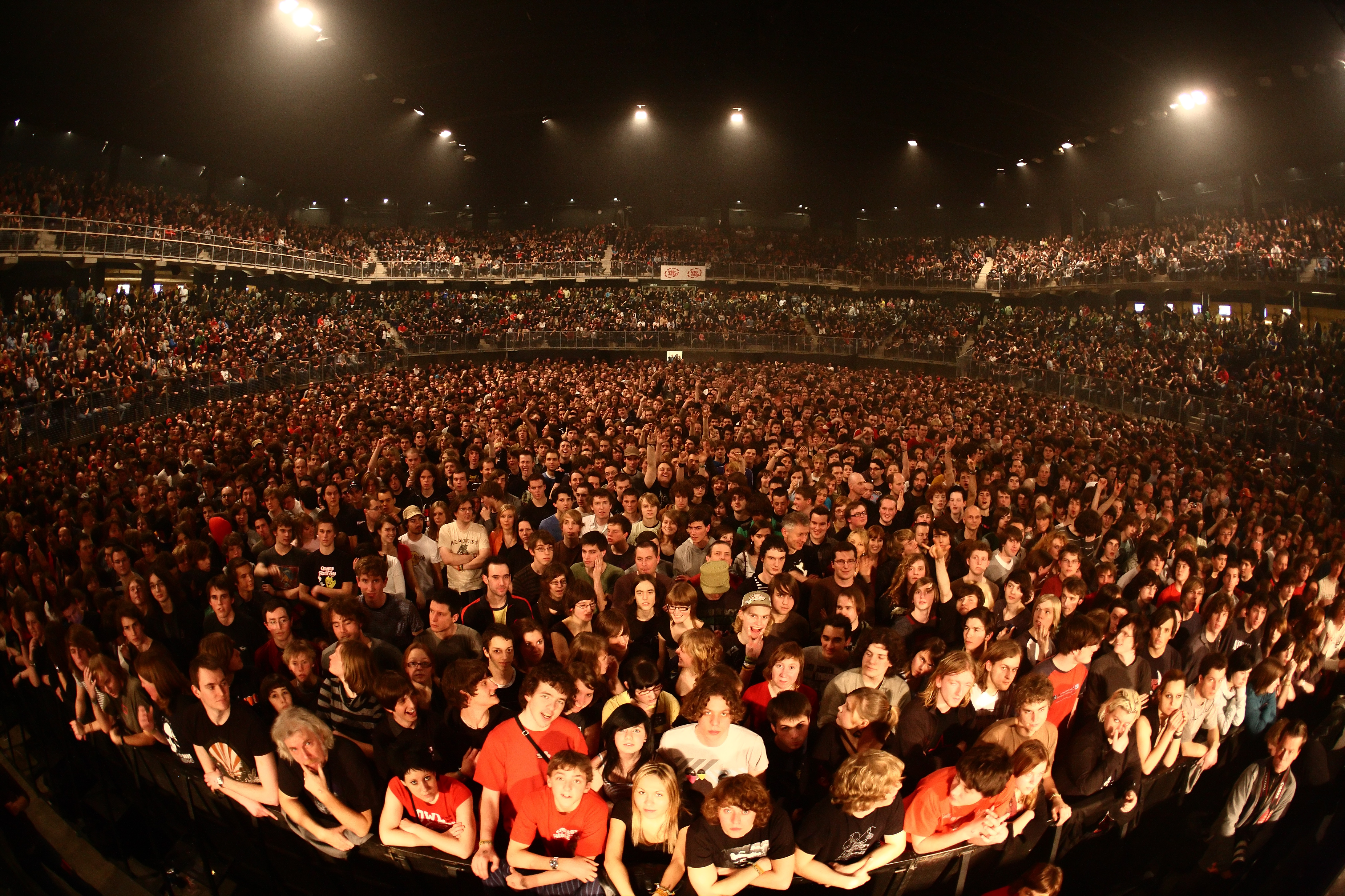 Concert Crowd in Amsterdam
