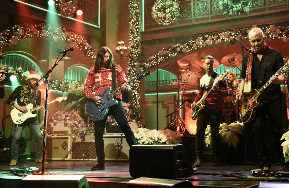 Foo Fighters on Saturday Night Live